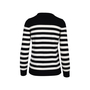 Authentic Second Hand Saint Laurent Striped Cashmere Sweater (PSS-126-00132) - Thumbnail 1