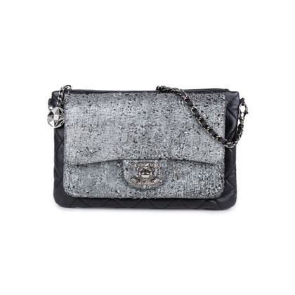 Authentic Pre Owned Chanel Mineral Nights Flap Bag (PSS-333-00059)