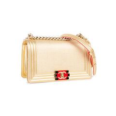 Chanel cube boy medium bag 2?1548242403