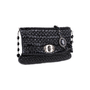 Authentic Second Hand Miu Miu Patent Matelasse Embellished Shoulder Clutch (PSS-333-00063) - Thumbnail 1