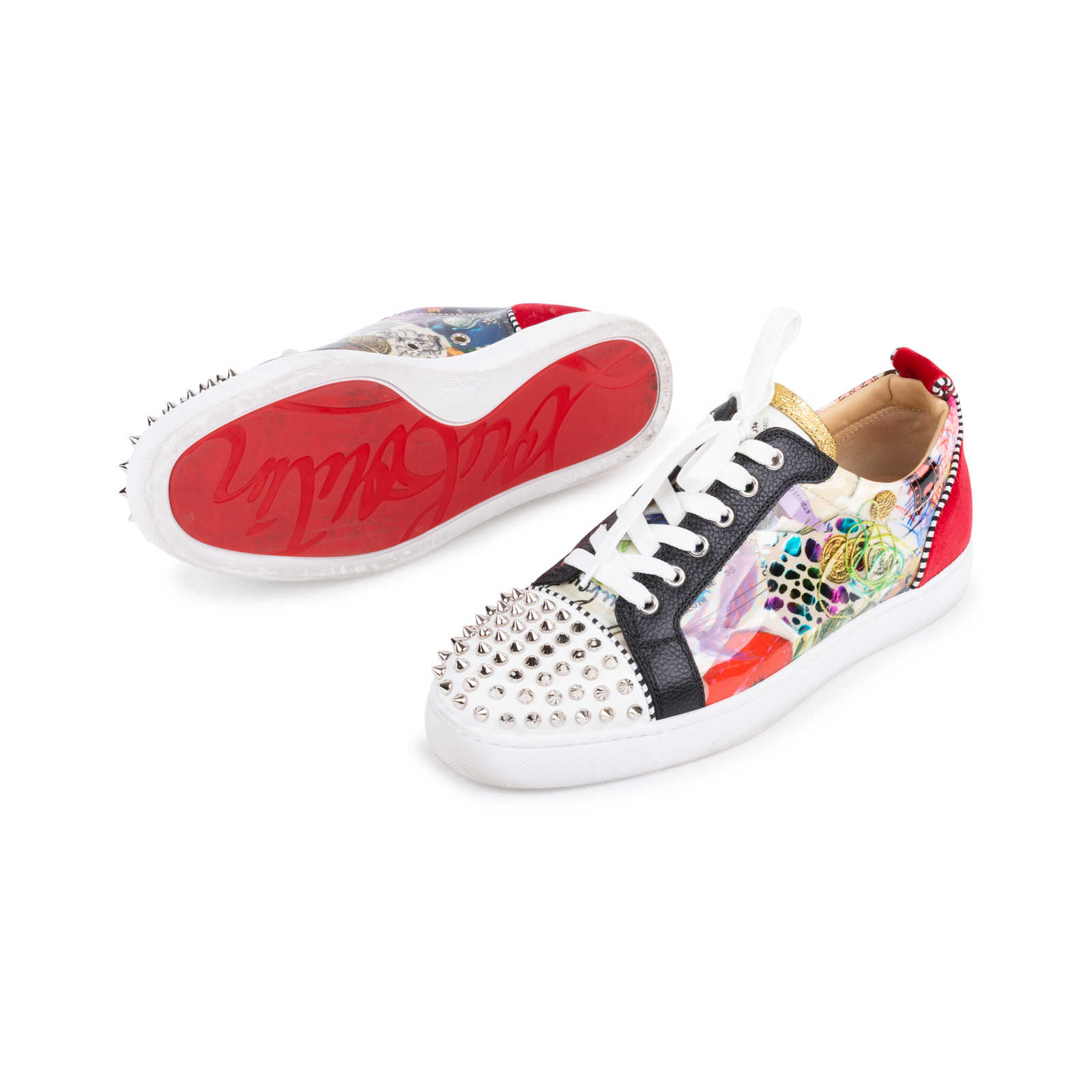 check out db054 d8014 Authentic Second Hand Christian Louboutin Louis Junior ...