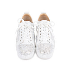 Louis Junior Strass Leather Sneakers