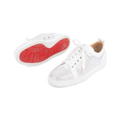 Christian louboutin louis junior strass leather sneakers 2?1548244253