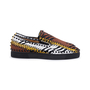 Authentic Second Hand Christian Louboutin Pik Boat Python and Leather Slip On Sneakers (PSS-601-00004) - Thumbnail 4