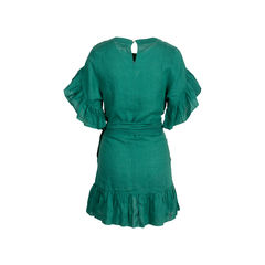 Isabel marant etoile delicia ruffle trim wrap dress 2?1548245370