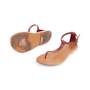 Authentic Second Hand Céline T-Strap Sandals (PSS-599-00011) - Thumbnail 5