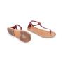 Authentic Second Hand Céline T-Strap Sandals (PSS-599-00011) - Thumbnail 6