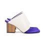 Authentic Second Hand Céline Leather Square-Toe Mules (PSS-599-00013) - Thumbnail 1