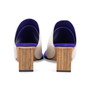 Authentic Pre Owned Céline Leather Square-Toe Mules (PSS-599-00013) - Thumbnail 5