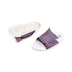 N21 knotted striped satin slides 2?1548690713