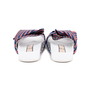 Authentic Second Hand N°21 Knotted Striped Satin Slides (PSS-599-00009) - Thumbnail 5