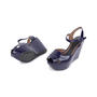 Authentic Second Hand Marni Patent Wedge Sandals (PSS-599-00014) - Thumbnail 1