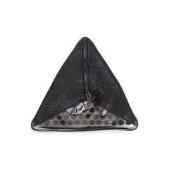 Darla Triangle Clutch