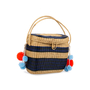 Authentic Pre Owned Sophie Anderson Cinto Striped Wicker Basket Bag (PSS-599-00017) - Thumbnail 2