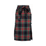 Authentic Second Hand Philosophy Di Alberta Ferretti Plaid Wool Wrap Skirt (PSS-599-00004) - Thumbnail 0