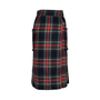 Authentic Second Hand Philosophy Di Alberta Ferretti Plaid Wool Wrap Skirt (PSS-599-00004) - Thumbnail 1