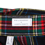 Authentic Second Hand Philosophy Di Alberta Ferretti Plaid Wool Wrap Skirt (PSS-599-00004) - Thumbnail 2