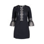 Authentic Second Hand Self-Portrait Bell-Sleeve Dress (PSS-599-00005) - Thumbnail 0