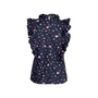 Authentic Pre Owned Rebecca Taylor Mia Pleated Top (PSS-048-00148) - Thumbnail 1