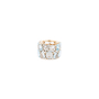 Authentic Second Hand Pomellato Lulu Blue Topaz and Diamond Ring (PSS-097-00122) - Thumbnail 1