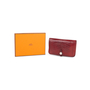 Authentic Second Hand Hermès Rouge H Alligator Dogon Wallet (PSS-097-00125) - Thumbnail 11