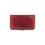 Authentic Second Hand Hermès Rouge H Alligator Dogon Wallet (PSS-097-00125) - Thumbnail 1