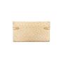 Authentic Second Hand Hermès Parchemin Ostrich Kelly Wallet (PSS-097-00126) - Thumbnail 1