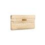Authentic Second Hand Hermès Parchemin Ostrich Kelly Wallet (PSS-097-00126) - Thumbnail 2