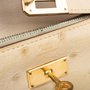 Authentic Pre Owned Hermès Parchemin Ostrich Kelly Wallet (PSS-097-00126) - Thumbnail 5