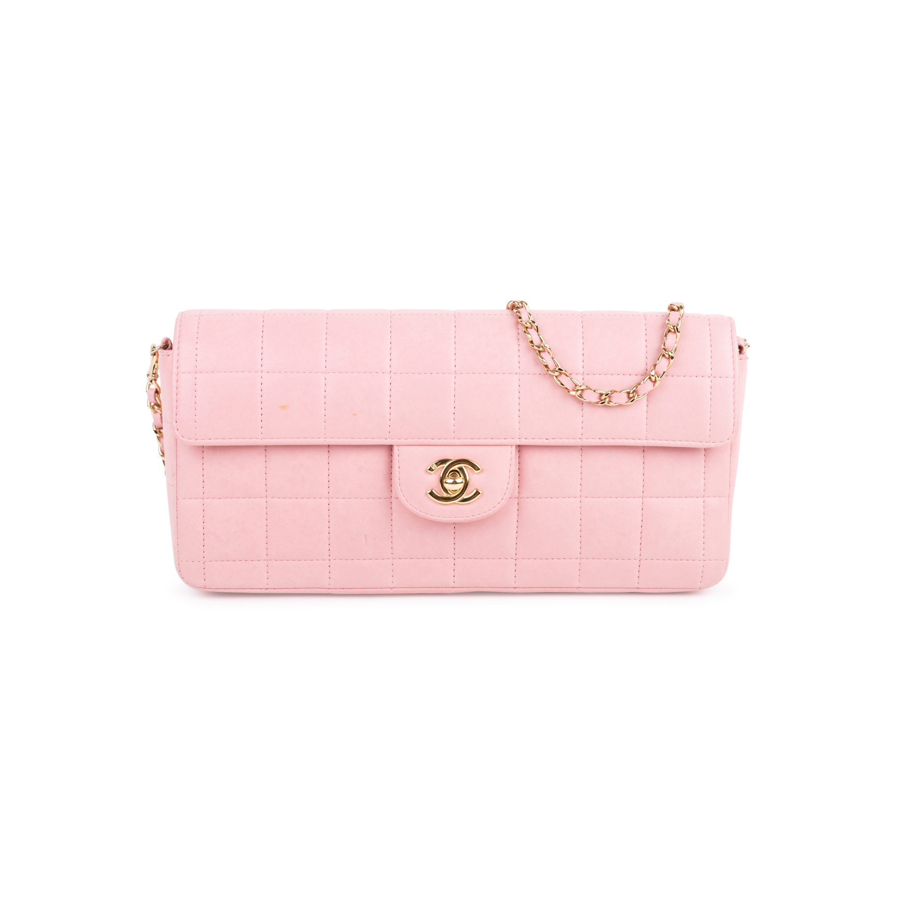 cb62aeb9f437 Authentic Second Hand Chanel Square Quilt East West Flap Bag  (PSS-097-00134) | THE FIFTH COLLECTION