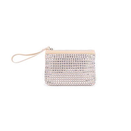 Authentic Second Hand Giuseppe Zanotti Crystal Embellished Suede Wristlet (PSS-097-00135)