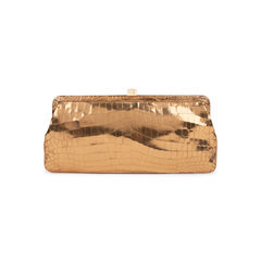 Crocodile Frame Clutch