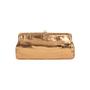 Authentic Second Hand Lambertson Truex Crocodile Frame Clutch (PSS-097-00138) - Thumbnail 1
