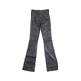 Authentic Pre Owned Jitrois Black Leather Flare Pants (PSS-049-00055) - Thumbnail 1