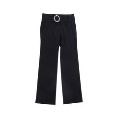 Belted Straight Leg Pants