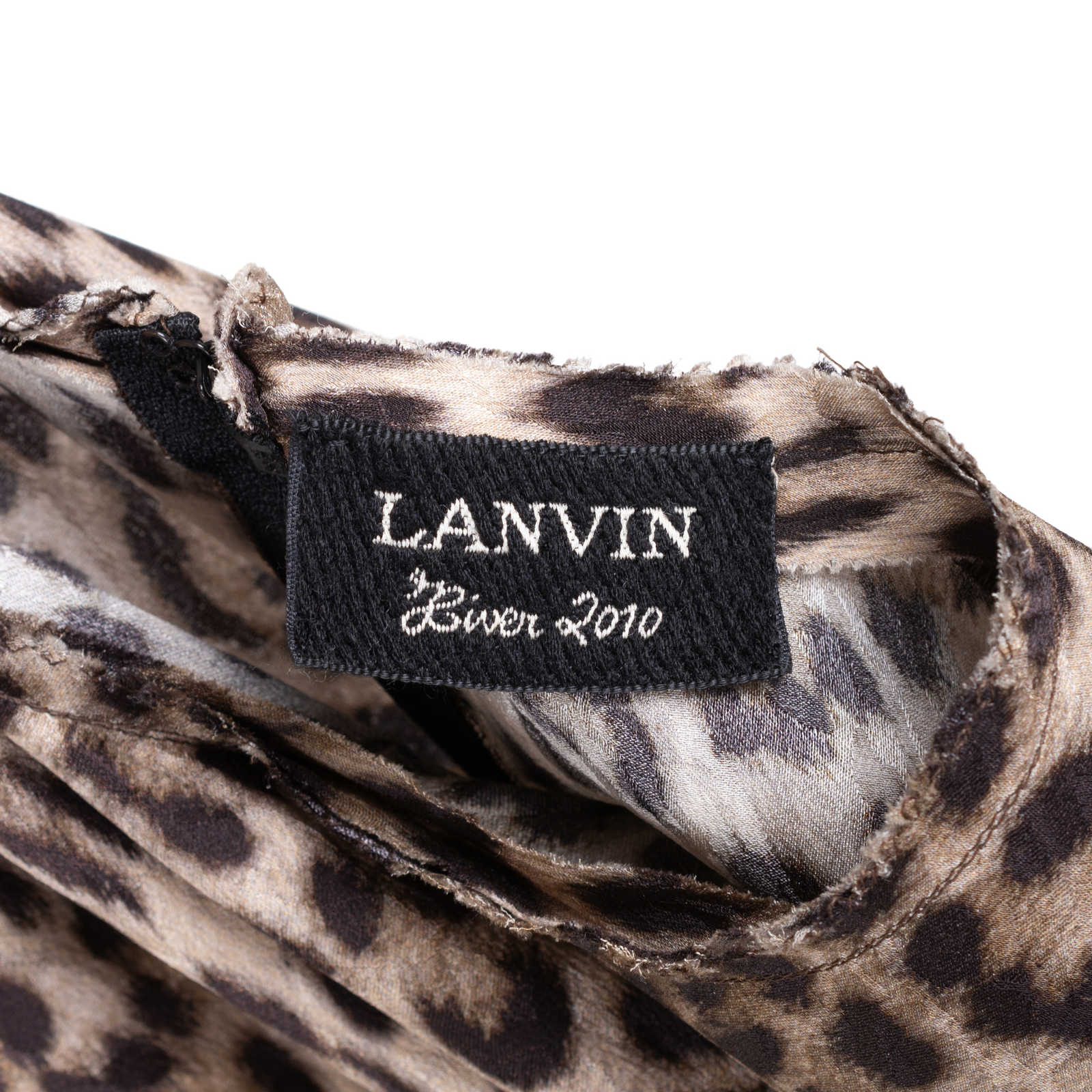 ... Authentic Second Hand Lanvin Leopard Printed Dress (PSS-049-00057) -  Thumbnail 6bb71e568