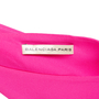 Authentic Pre Owned Balenciaga Silk Ruched Fuschia Dress (PSS-049-00059) - Thumbnail 2