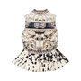 Authentic Second Hand Mary Katrantzou Jacquared Structured Peplum Top (PSS-049-00060) - Thumbnail 1