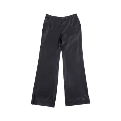 Authentic Second Hand Balenciaga Black Straight Leg Pants (PSS-049-00061)