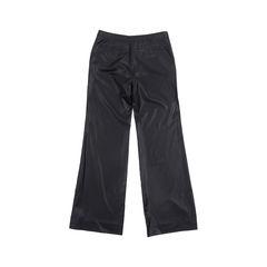 Balenciaga black straight leg pants 2?1548842000