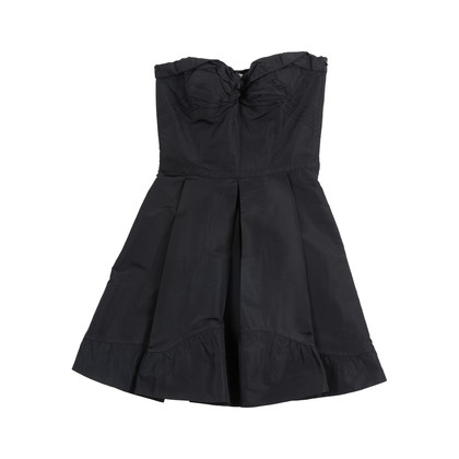 Authentic Second Hand Miu Miu Black Bustier Dress (PSS-049-00062)