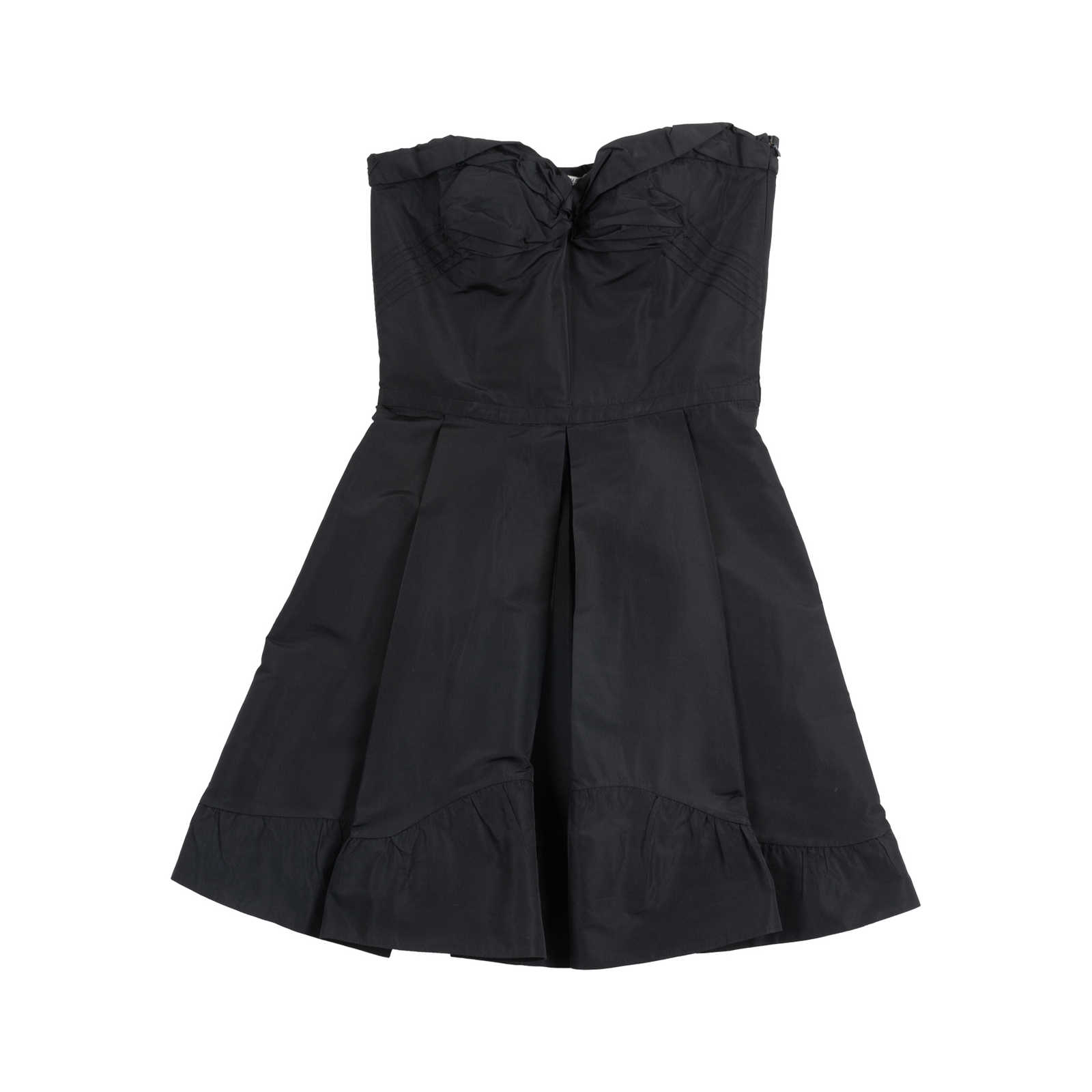 4ad86f7e973c9 Authentic Second Hand Miu Miu Black Bustier Dress (PSS-049-00062) ...