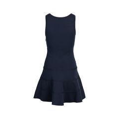 Azzedine alaia navy knit dress 2?1548842027