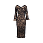 Authentic Second Hand Chanel Lace Maxi Dress (PSS-049-00064) - Thumbnail 0