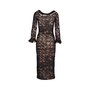 Authentic Second Hand Chanel Lace Maxi Dress (PSS-049-00064) - Thumbnail 1