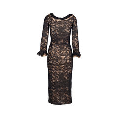 Chanel lace maxi dress 2?1548842045
