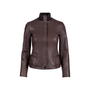 Authentic Pre Owned Hermès Brown Leather Jacket (PSS-049-00065) - Thumbnail 0