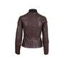 Authentic Pre Owned Hermès Brown Leather Jacket (PSS-049-00065) - Thumbnail 1