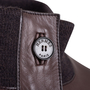 Authentic Pre Owned Hermès Brown Leather Jacket (PSS-049-00065) - Thumbnail 2