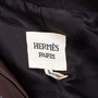 Authentic Pre Owned Hermès Brown Leather Jacket (PSS-049-00065) - Thumbnail 5